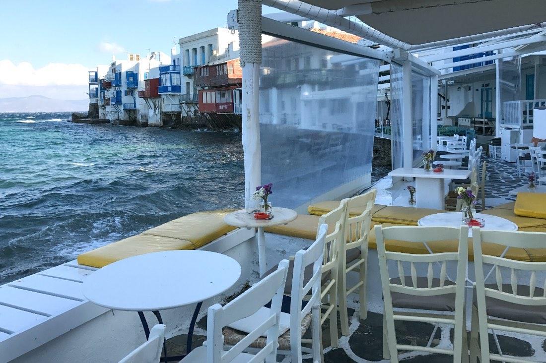 Mykonos: Die bunten Häuser von Klein Venedig