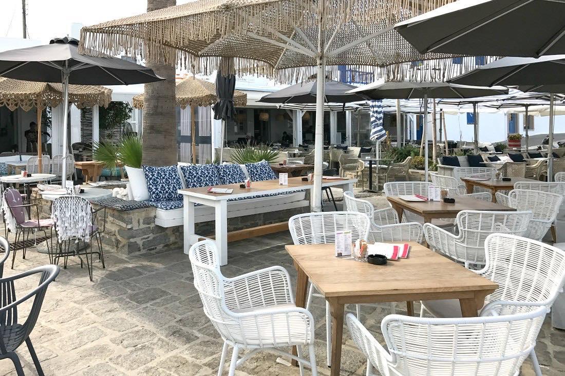 Café Amelie in Naoussa auf Paros Griechenland