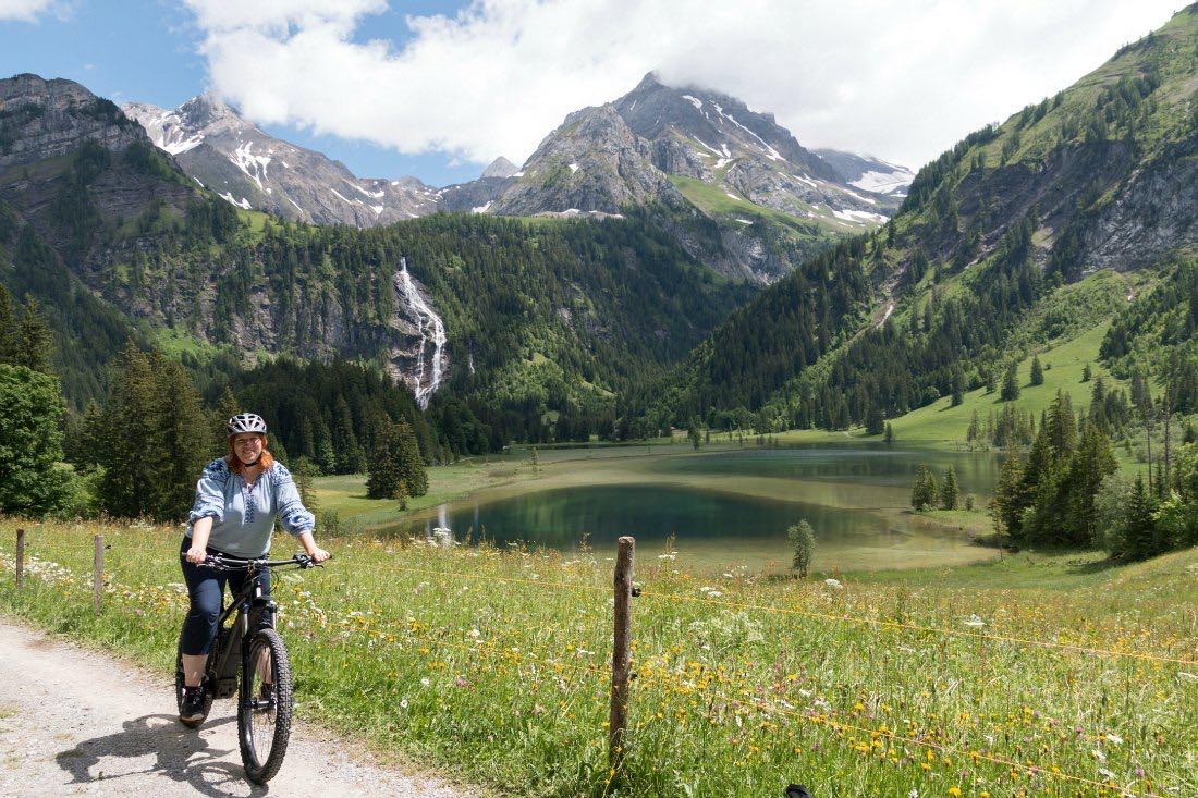 Reiseblogger Anja Beckmann in der Schweiz