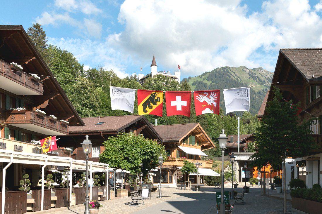 Gstaad im Berner Oberland