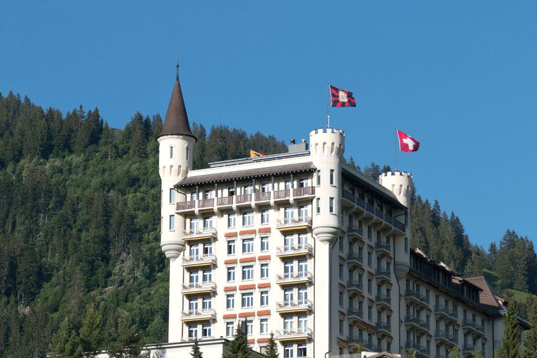Gstaad Palace in der Schweiz