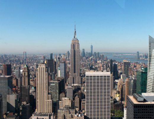 New York Aussichtsplattformen Top of the Rock oder One World Observatory