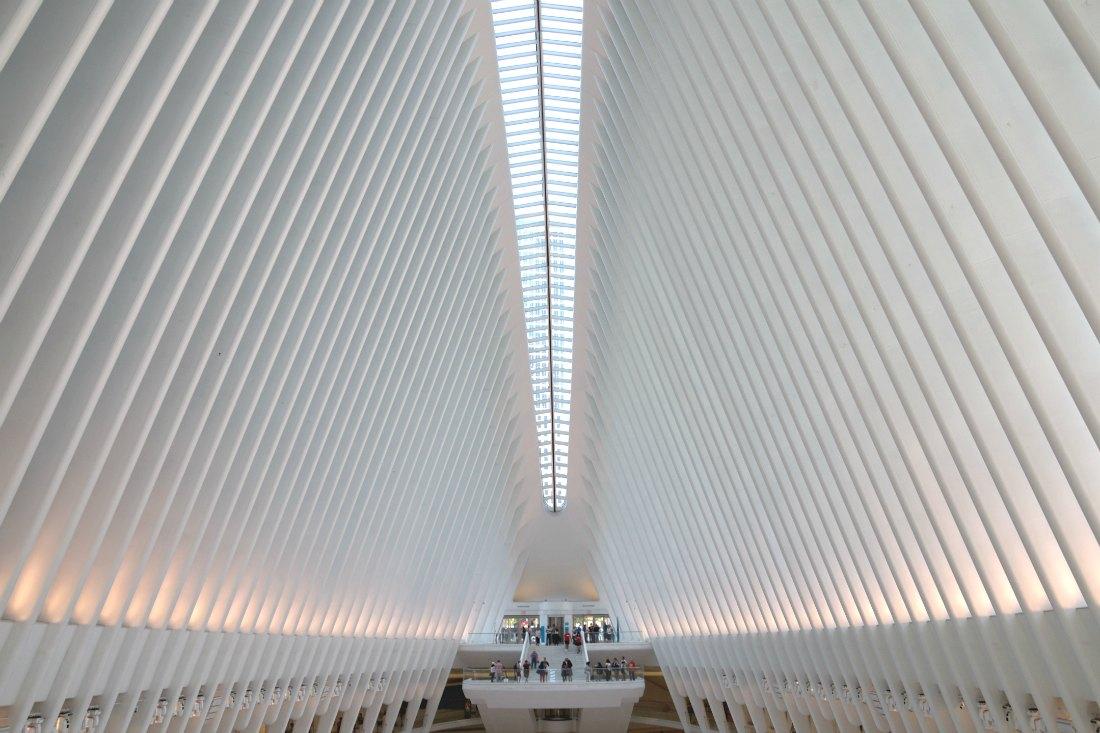 Oculus Bahnhof in New York