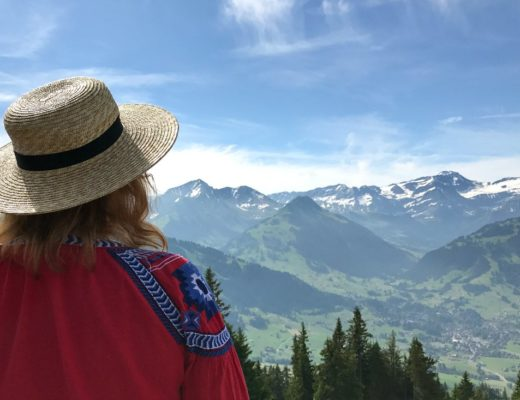 Gstaad Bergsommer in der Schweiz