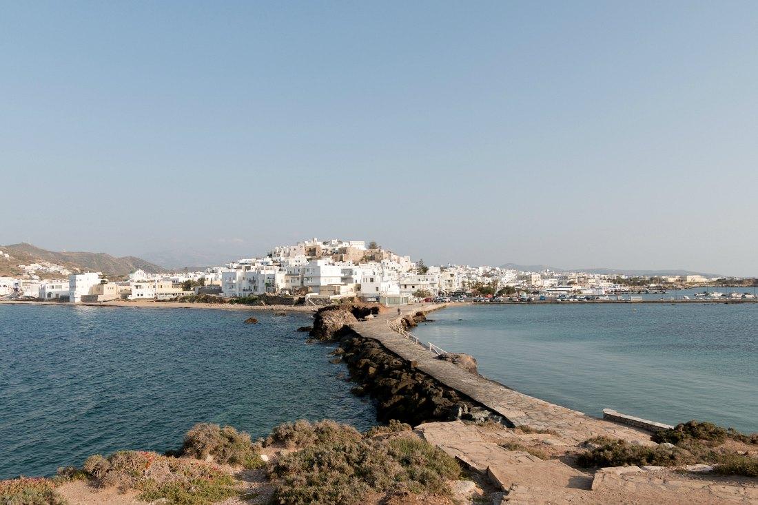 Ausblick auf Naxos