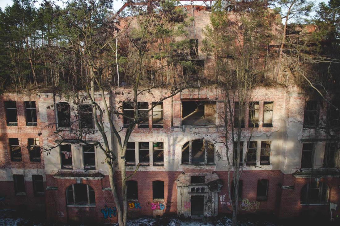 Baumkronenpfad von Beelitz-Heilstätten