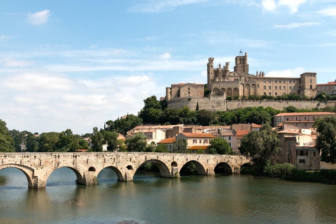Béziers in Südfrankreich