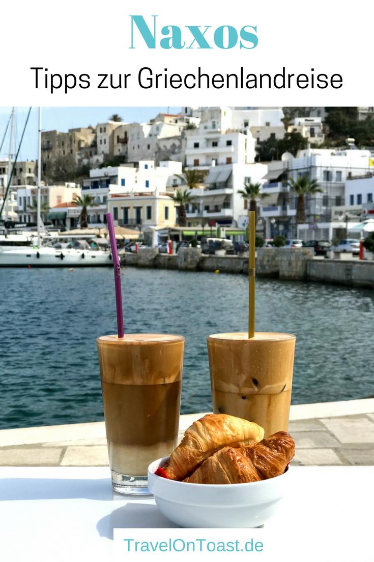 Naxos, Griechenland: Die besten Sehenswürdigkeiten auf der größten und grünsten Kykladeninsel findet ihr im Artikel - etwa Strände, Ruinen und Restaurants zum Essen. Dazu verrate ich euch mehr zu Anreise, Kosten und dem Wetter. #Naxos #Kykladen #Griechenland #Reise #Reisen #Ferien #Urlaub
