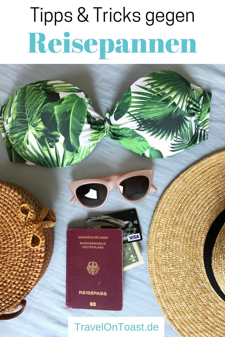 (Werbung) Reisepannen: DieKreditkarte wird gestohlen, das Gepäck ist weg oder ihr werdet krank. Ich erzähle euch von meinen Erfahrungen und verrate euch die besten Tipps und Tricks gegen Reisepannen. #Reise #Urlaub #Sommerurlaub #TargobankReise