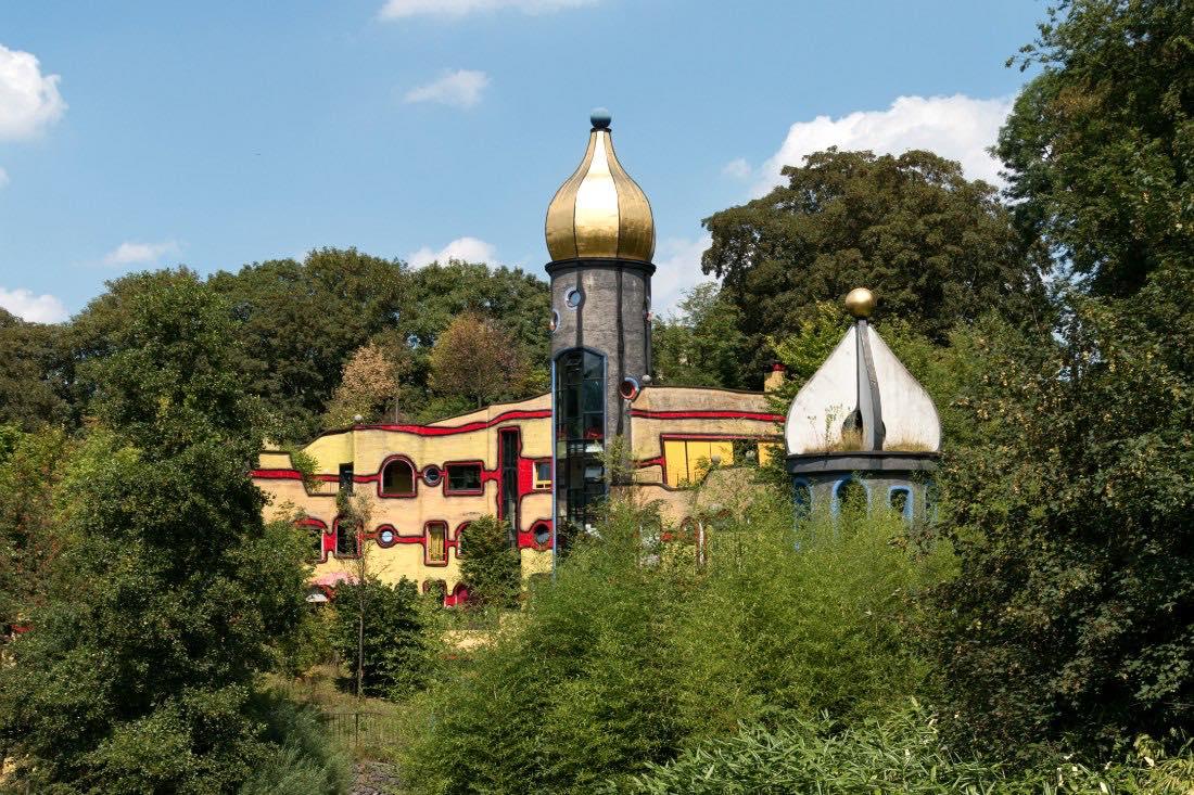 Sehenswürdigkeiten Ruhrgebiet Grugapark Essen Hundertwasserhaus