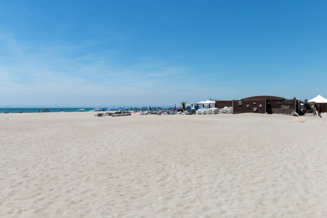 L'Espiguette Strand in Südfrankreich
