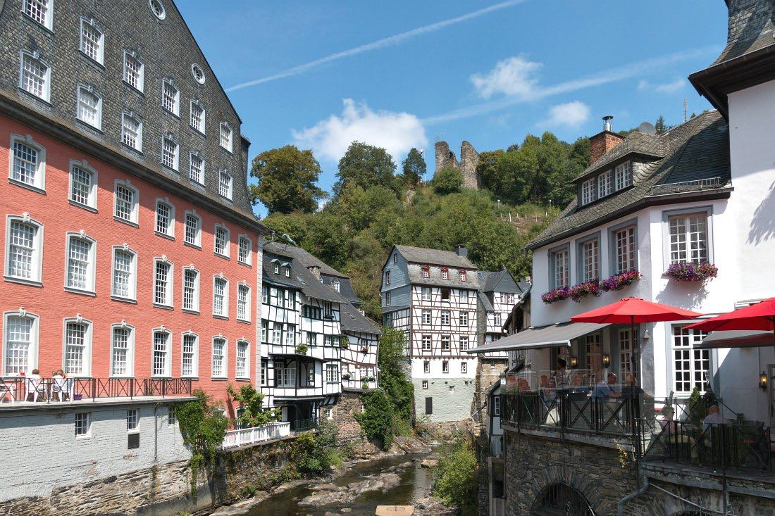 Rotes Haus in Monschau
