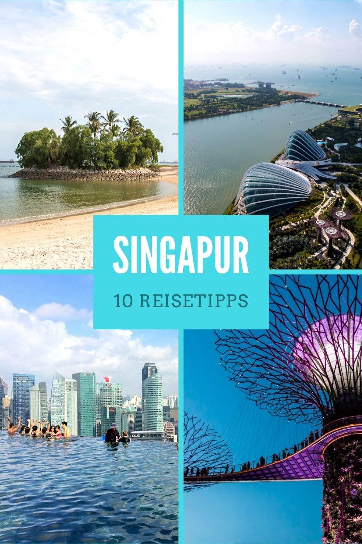 Singapur: Die 10 besten Singapur Reisetipps plus Bilder. Highlights und Sehenswürdigkeiten wie der Marina Bay Sands Pool, Gardens by the Bay mit Supertrees, Sentosa Island, Merlion, Orchard Road oder Essen. Singapur Tipps für deine Asienreisen! / Asien Rundreise / Fernreiseziele / Fernreisen #Singapur #Asienreisen #Urlaub #Reisen