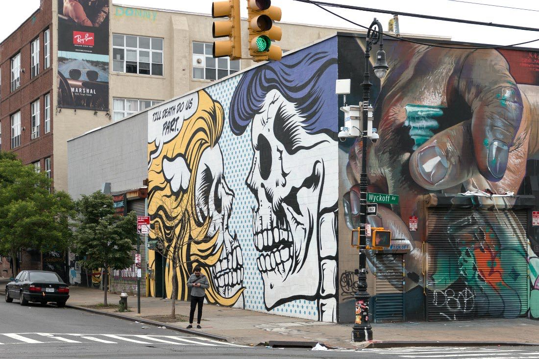 Mural in New York