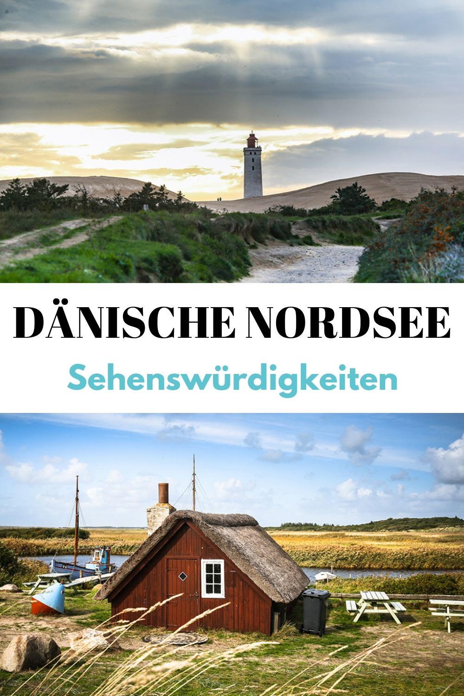 (Werbung) Dänische Nordsee: Die besten Sehenswürdigkeiten an der Nordseeküste in Dänemark - die schönsten Aktivitäten und Highlights wie Strand, Leuchtturm, Surfkurs, Hotel oder Restaurant. #Dänemark #Nordsee #Nordseeküste #Roadtrip #Urlaub #Reise #Reisen