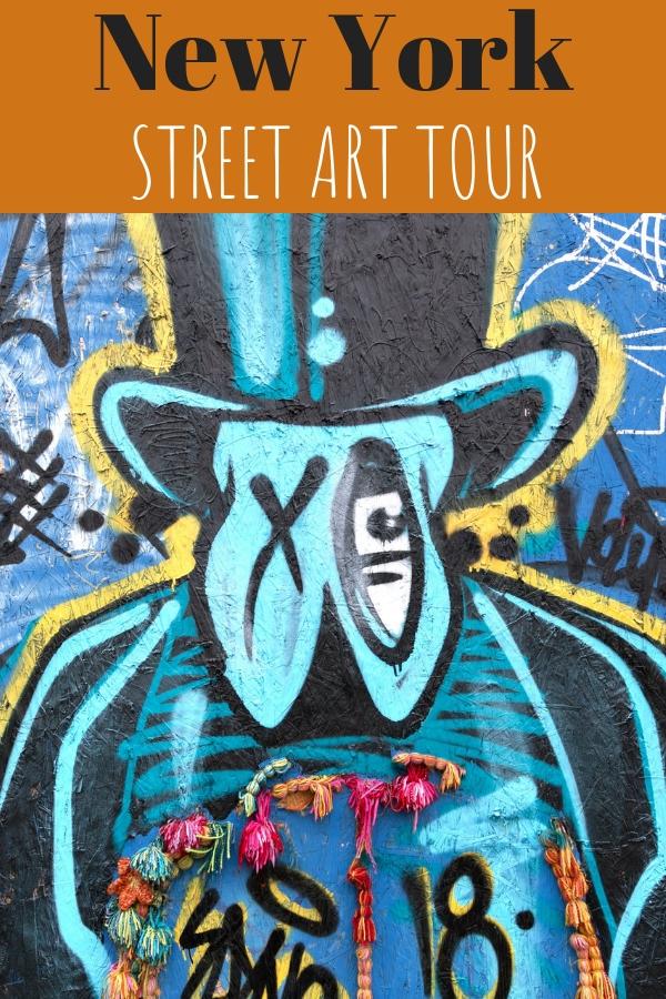 Bushwick Collective: Die beste Street Art Tour in Brooklyn, New York. Entdeckt in rund zwei Stunden viele Highlights der über 50 Kunstwerke der Outdoor Galerie. Im Artikel erzähle ich euch von der Tour und zeige euch die schönsten Motive. #NewYork #Brooklyn #Bushwick #BushwickCollective #StreetArt #Graffiti