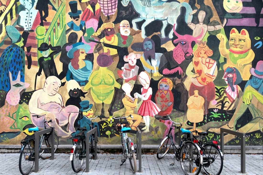 Streetart in Antwerpen