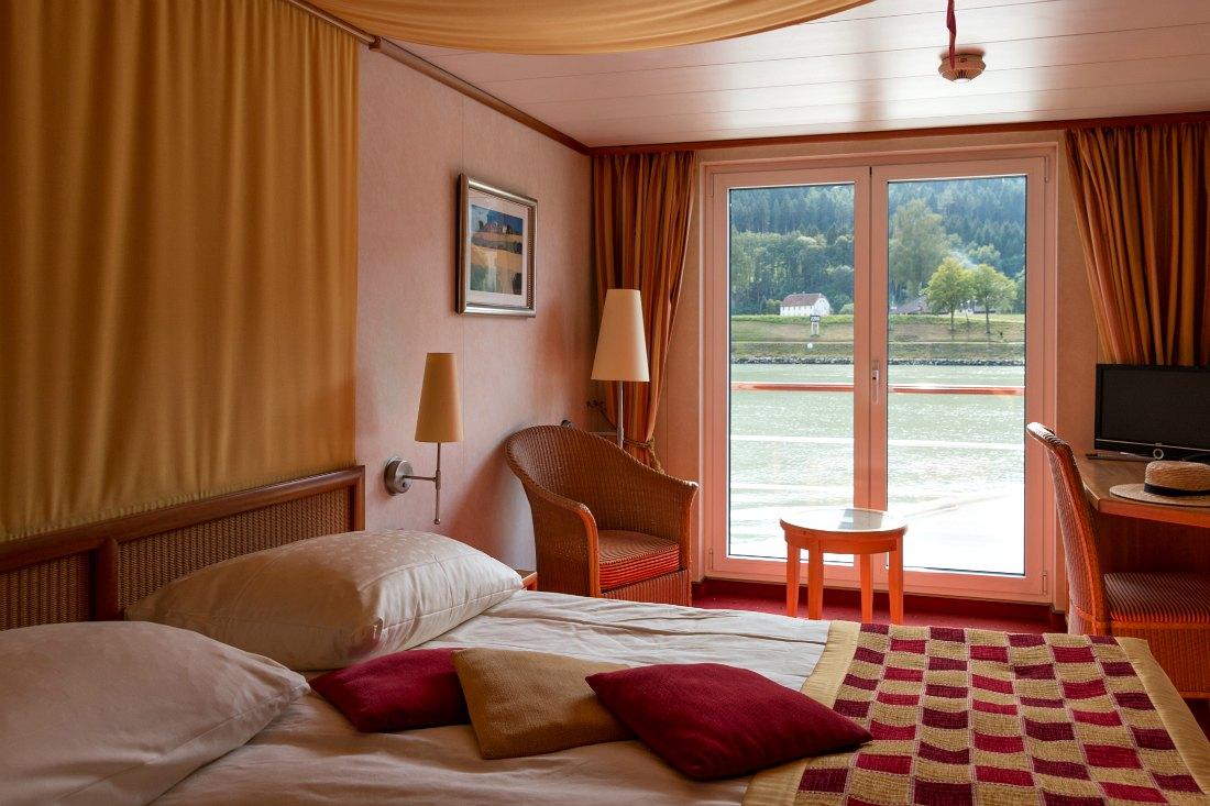 Zimmer bei der Donau Flusskreuzfahrt