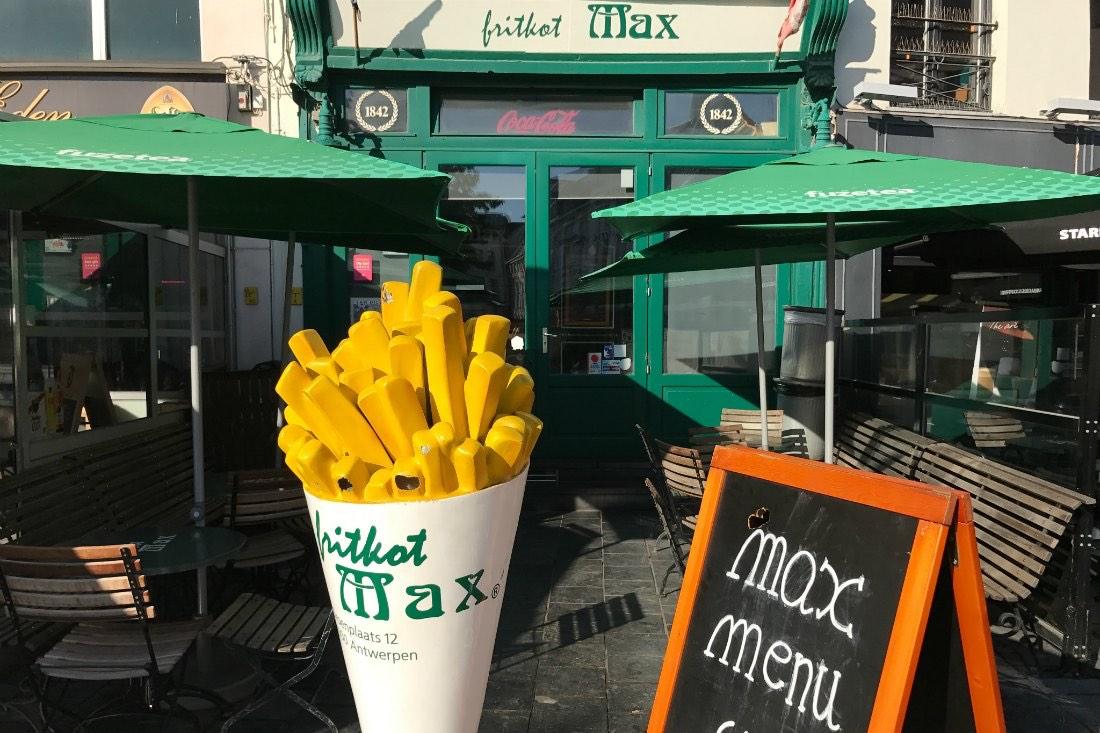 Fritten bei Fritkot Max
