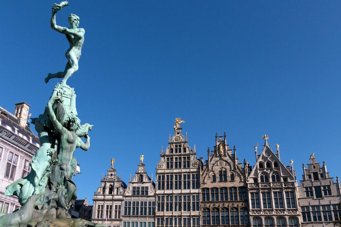 Städtetrip Europa - Grote Markt Antwerpen