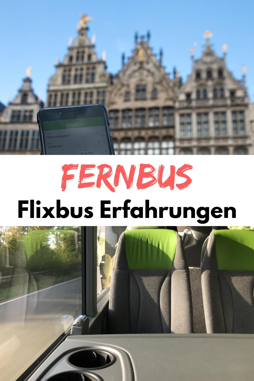 Günstiger Preis, gute Verbindungen und kein Umsteigen: Ich erzähle euch von meinen Flixbus Erfahrungen - den positiven und negativen mit dem Fernbus. Vom Rheinland ging es nach Antwerpen, Belgien. #Fernbus #Flixbus #Antwerpen #Belgien #Kurzurlaub #Wochenende #Reiseblog #Reiseblogger
