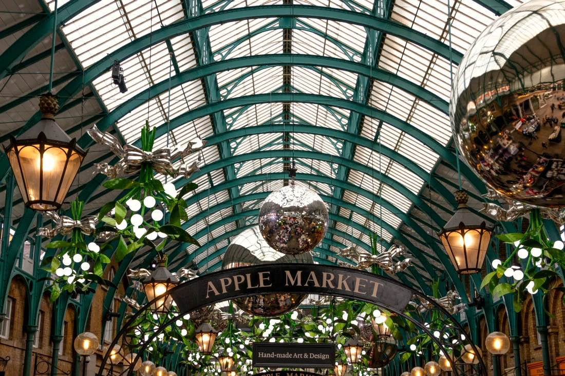 Covent Garden Market zu Weihnachten