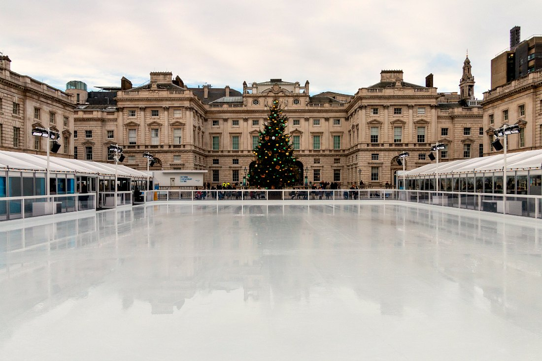 Eislaufbahn Skate at Somerset House