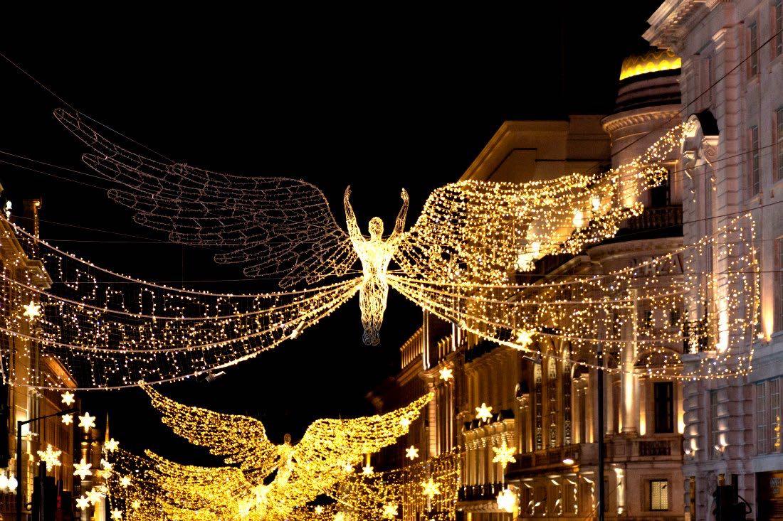 Weihnachtsbeleuchtung London