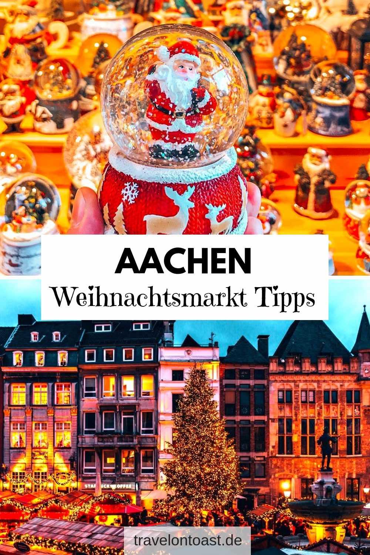 Einer der schönsten Weihnachtsmärkte Deutschlands ist der Weihnachtsmarkt Aachen, NRW. Im Artikel findest du die besten Tipps: Termin, Öffnungszeiten in der Vorweihnachtszeit, Hotel. #Urlaub #Reisen