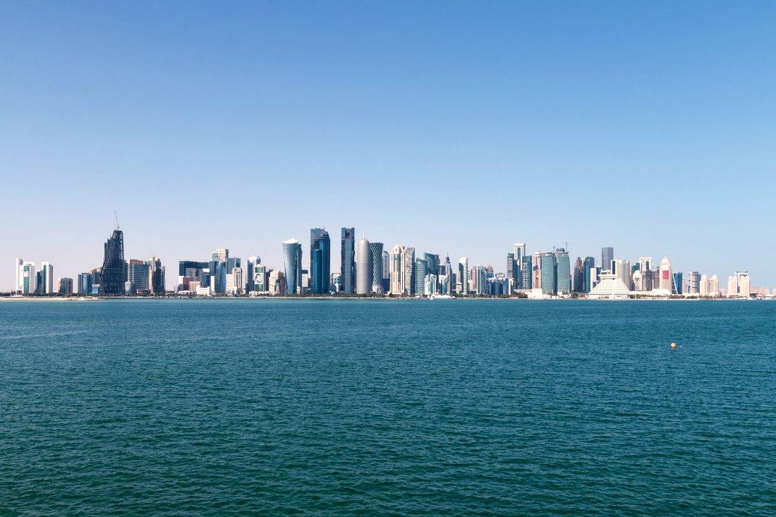 Skyline von Doha Katar