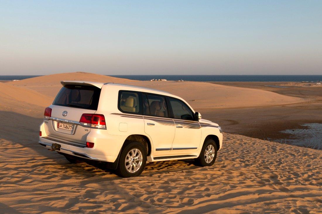 Doha Wüstensafari im Jeep