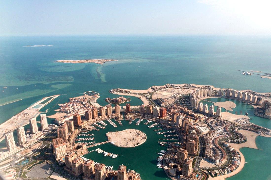 Insel The Pearl Doha Katar