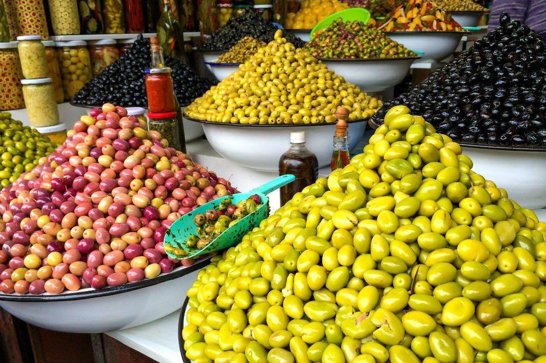 Oliven in Marokko