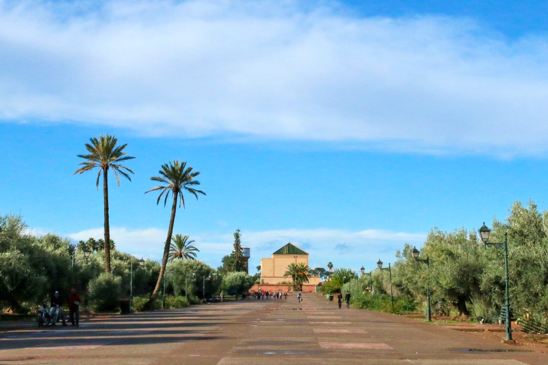 Marrakesch in Marokko
