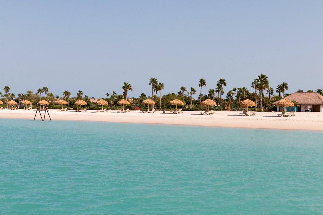 Doha Strand auf Banana Island