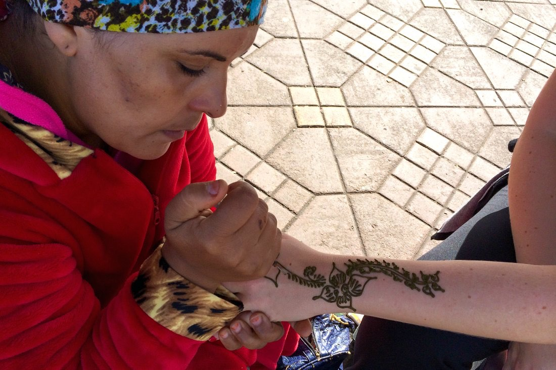 Henna in Marrakesch