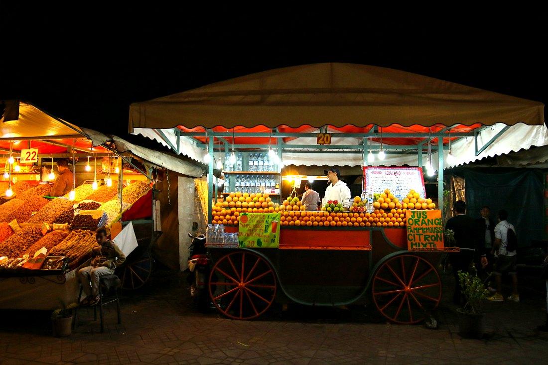 Marrakesch Markt Djemaa el Fna