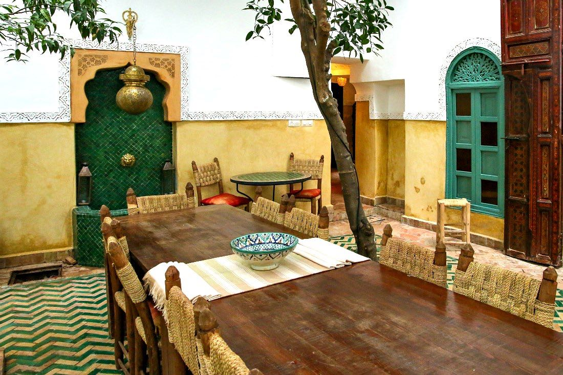 Riad Hotel in Marrakesch