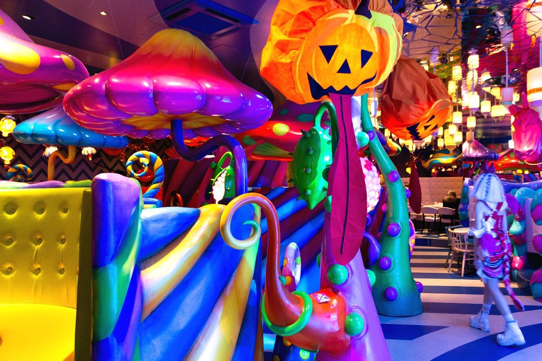 Kawaii Monster Cafe in Tokio