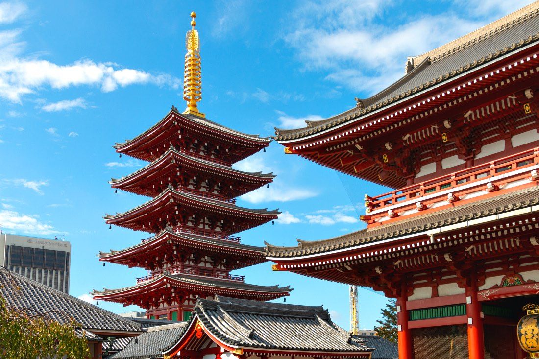 Senso-ji Tempel in Tokio