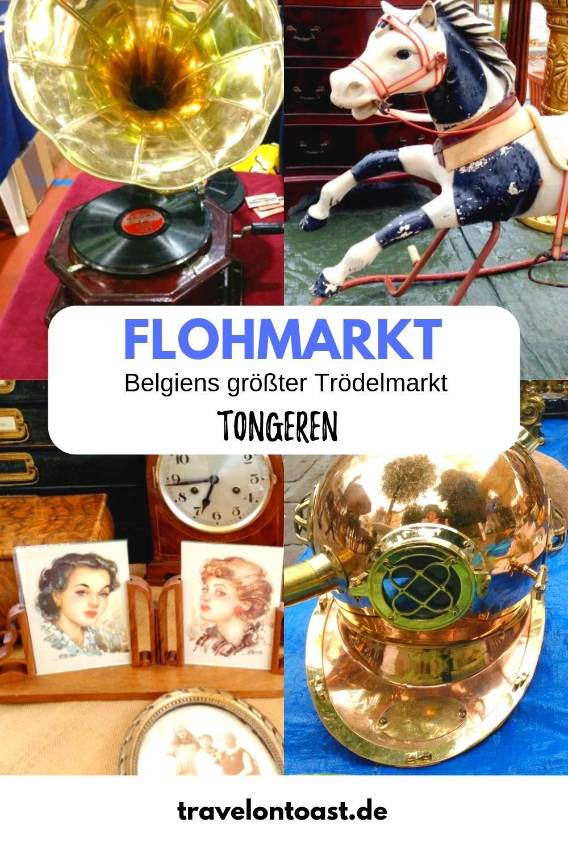 Tongeren Flohmarkt: In Tongeren (Flandern Belgien) findet immer am Sonntag der größte Flohmarkt Belgiens statt. Im Artikel gebe ich euch Flohmarkt Tipps und Trödelmarkt Tipps zum Antikmarkt Tongeren, für Secondhand Kleider und Secondhand Einrichtung. #Flohmarkt #Tongeren #Flandern #Belgien