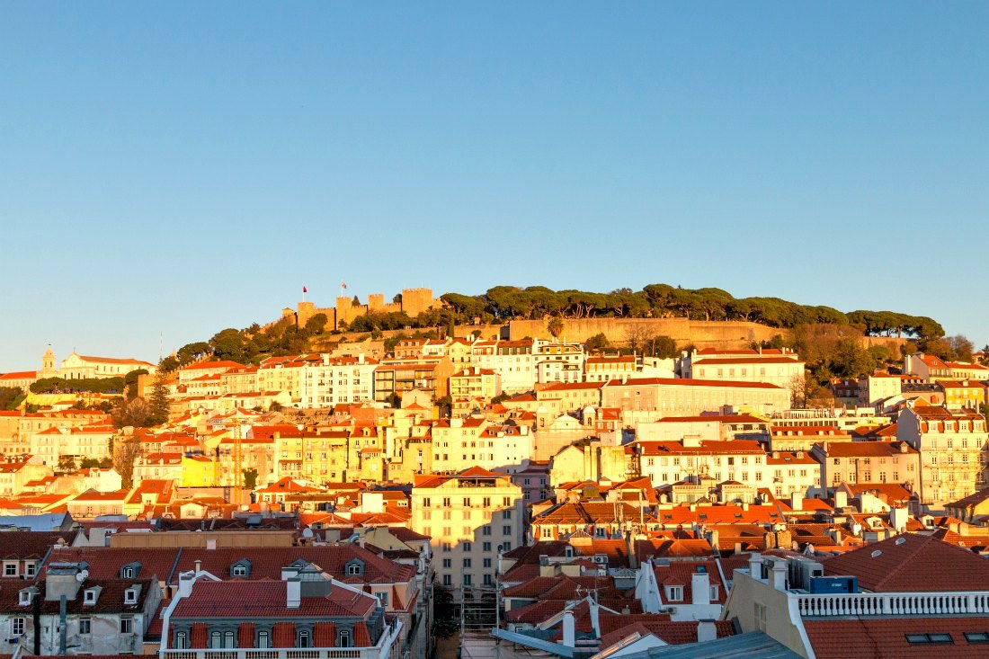 Lissabon im Winter