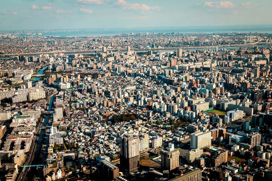 Ausblick vom Tokyo Skytree