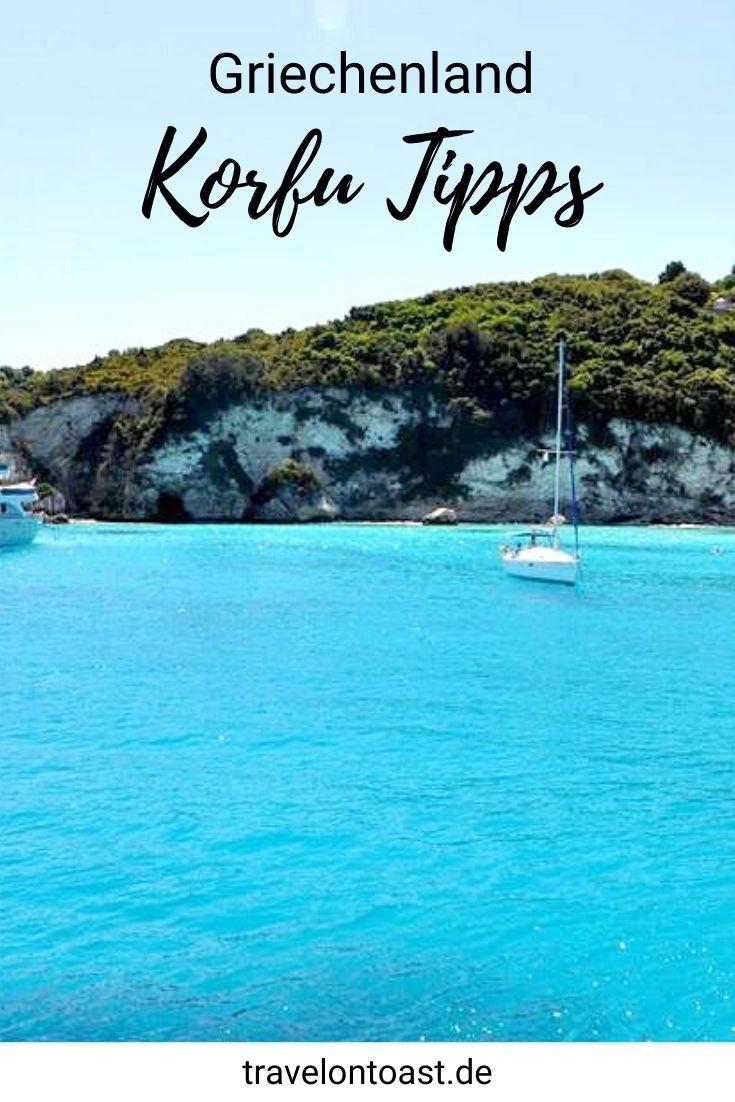 Die 10 besten Korfu Tipps für deinen Griechenland Urlaub: Die schönsten Sehenswürdigkeiten auf und um Korfu - etwa Stadt, Strände, Buchten, Hotel und Restaurants. / griechische Inseln / Europa Reisen / Reiseziele in Europa / Sommerurlaub