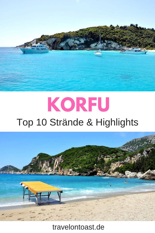 Die 10 besten Korfu Tipps und Sehenswürdigkeiten auf und um Korfu - etwa Korfu Stadt, Korfu Strände, Buchten und Restaurants. Alles für euren Korfu Urlaub und Griechenland Urlaub! #Korfu #Griechenland