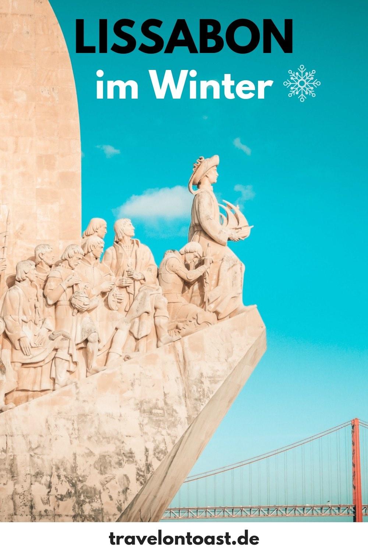 Die besten Lissabon Tipps fürLissabon im Winter, plus rund 30 Lissabon Bilder zu Sehenswürdigkeiten in Lissabon und Sintra. Dazu einen Zeit- und Kostenplan für die Winter Reise. Alles für deine Lissabon Reise! #Lissabon #Portugal #Winterreise