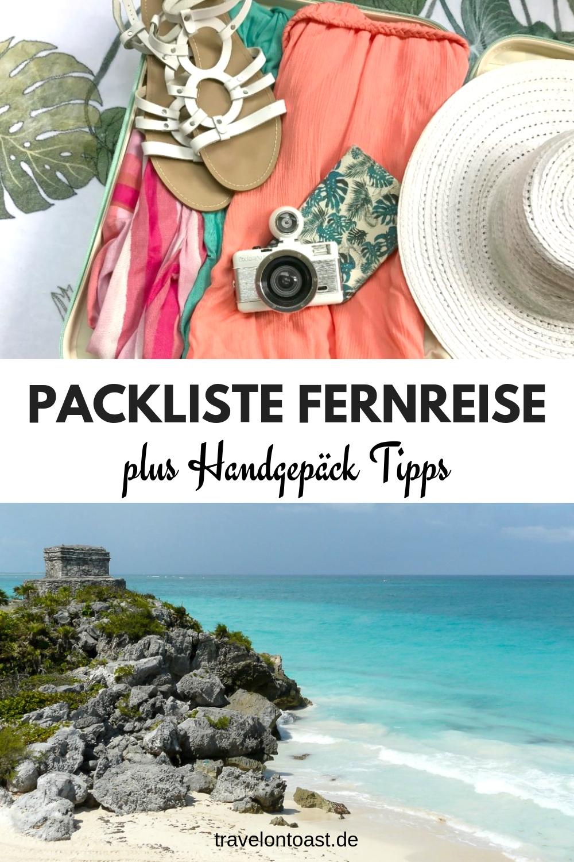 Hol dir die perfekte Packliste für deine Fernreise - ob Bali Urlaub, Thailand Reise, Australien Reise oder Karibik. Die praktische Checkliste Urlaub zum Ausdrucken und Abhaken hilft dir, damit du garantiert nichts vergisst. #Packliste #Checkliste #Urlaub #Reisen