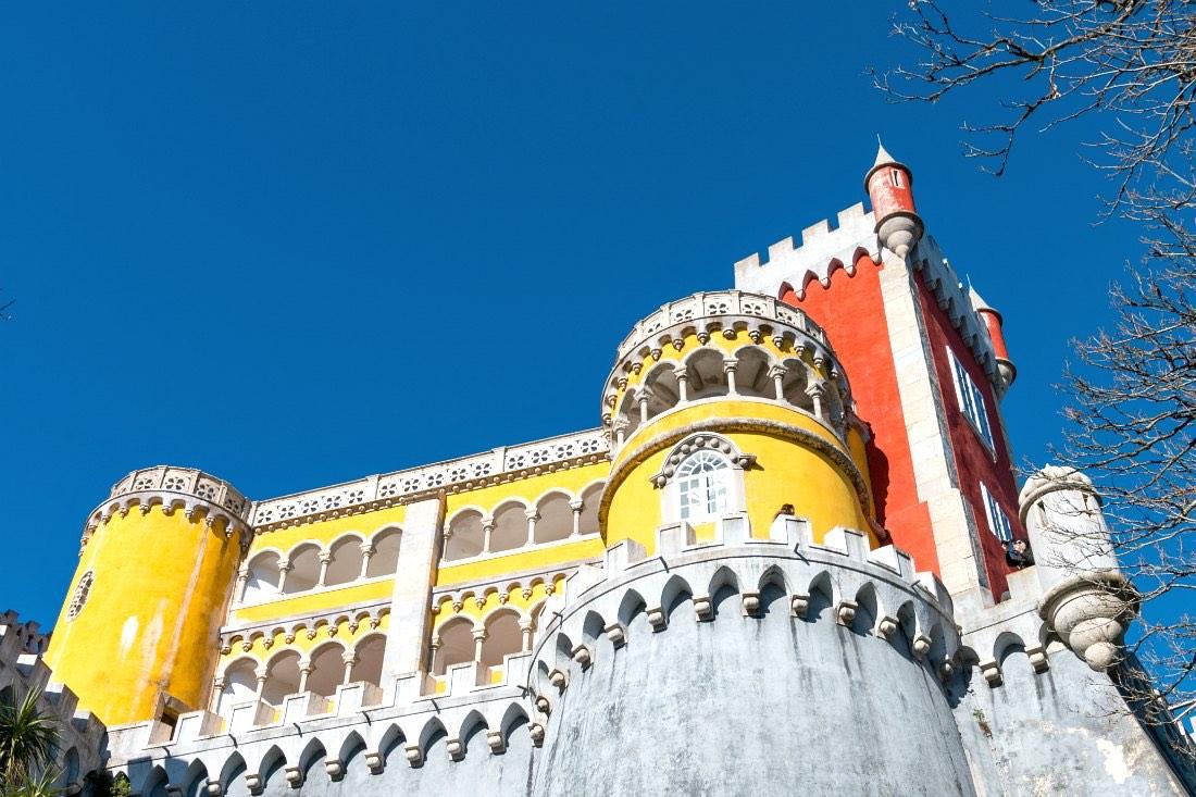 Lissabon im Winter: Pena Palast