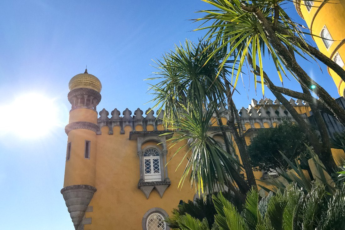 Lissabon im Winter: Sintra