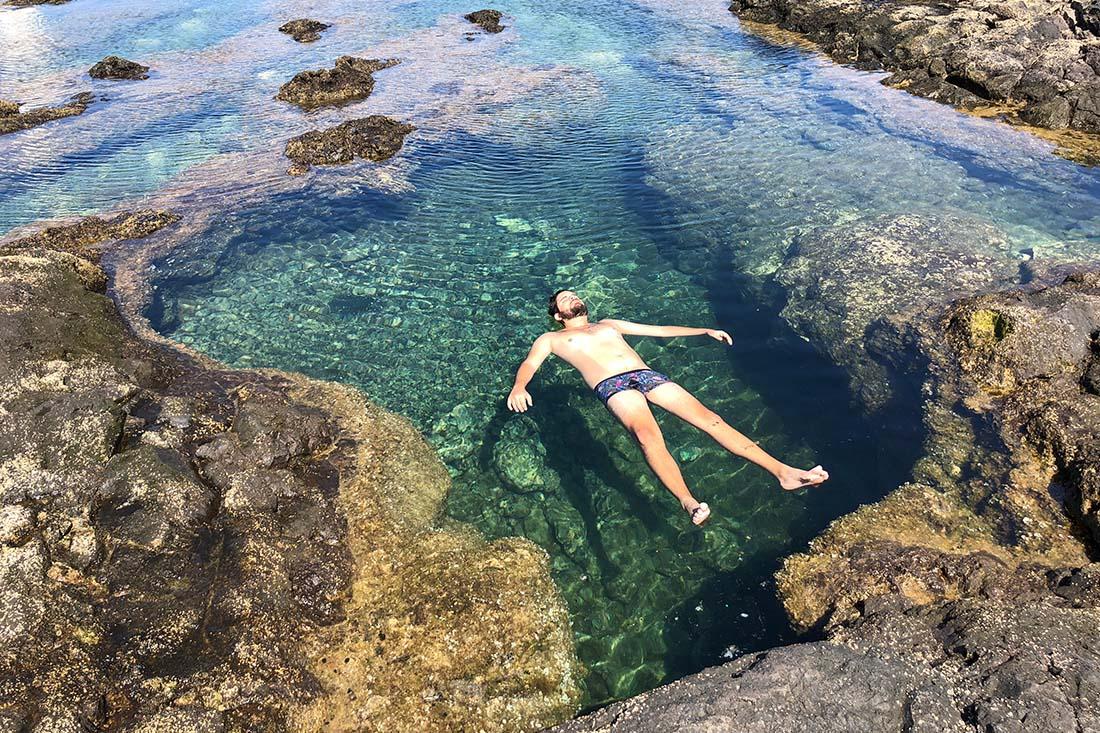 Naturschwimmbecken auf Teneriffa